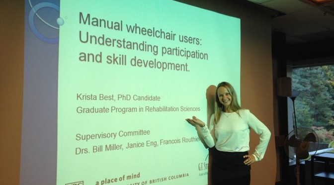 Congratulations to Dr. Krista Best!