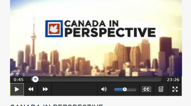 Familiar CanWheel faces featured on Canada in Perspective!