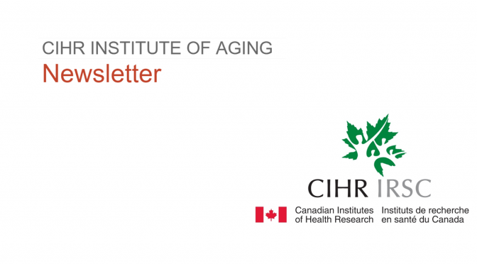 CANWHEEL Receives an Honourable mention from the Scientific Director of CIHR