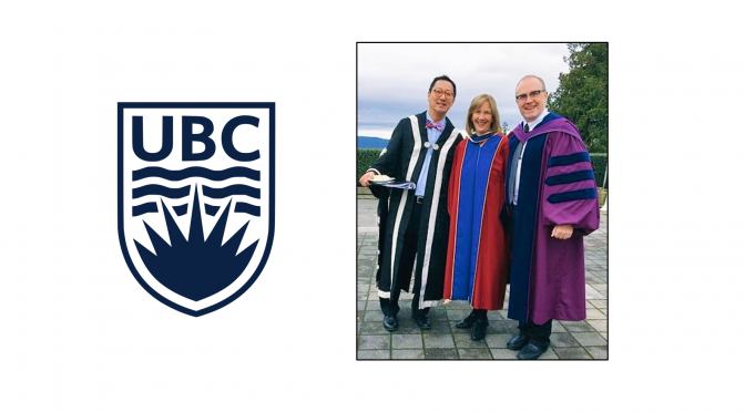Dr. Debbie Field, UBC's newest Doctor of Philosophy in Rehabilitation Sciences