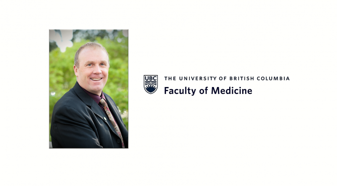 Senior Leadership in the Faculty of Medicine – Dr. William Miller